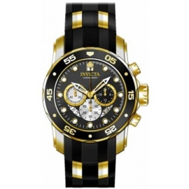 Invicta Men's 28722 Pro Diver Quartz Chronograph Black Dial Watch
