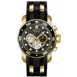 Invicta Men's 28722 Pro Diver Quartz Chronograph Black Dial Watch