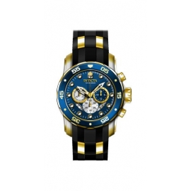 Invicta Men's 28723 Pro Diver Quartz Chronograph Blue Dial Watch