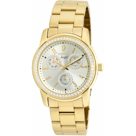 INVICTA ANGEL WOMEN'S QUARTZ GOLD CASE, GOLD DIAL - 18990