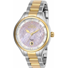 Invicta Women's 27766 Angel Quartz Multifunction Pink Dial Watch