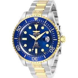 Invicta Men's 27613 Pro Diver Automatic 3 Hand Blue Dial Watch