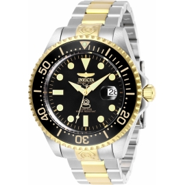 Invicta Model 27614 Pro Diver Mens Automatic 47 mm Stainless Steel, Gold Case Black Dial -
