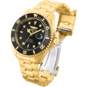 Invicta Pro Diver model 28948 Automatic 47m Gold, black