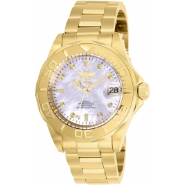 Invicta Pro Diver model 28694, Automatic Mother of Pear Dial