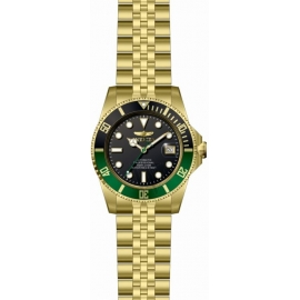 Invicta 29184 Men's Pro Diver Stainless Steel Black Dial