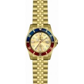 Invicta Men's 29183 Pro Diver Automatic 3 Hand Gold Dial Watch