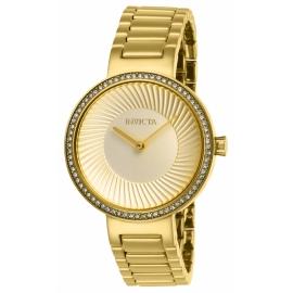 INVICTA MODEL 27001 SPECIALTY MENS QUARTZ 36 MM GOLD CASE GOLD DIAL -