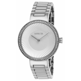 INVICTA MODEL 26998 SPECIALTY WOMENS QUARTZ 36 MM STAINLESS STEEL CASE SILVER DIAL -