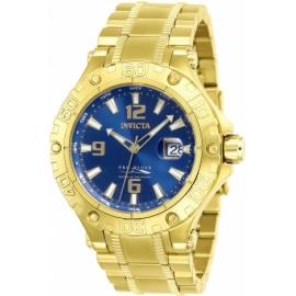 INVICTA PRO DIVER MENS AUTOMATIC 47 MM GOLD CASE BLUE DIAL - MODEL 27310