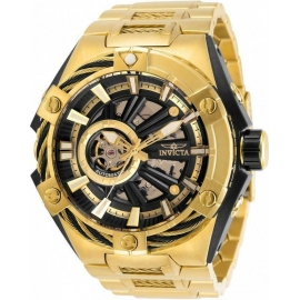INVICTA S1 RALLY MENS AUTOMATIC 51 MM BLACK, GOLD CASE GOLD, BLACK DIAL - MODEL 28865
