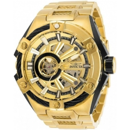 INVICTA S1 RALLY MENS AUTOMATIC 51 MM BLACK, GOLD CASE BLACK DIAL - MODEL 28868