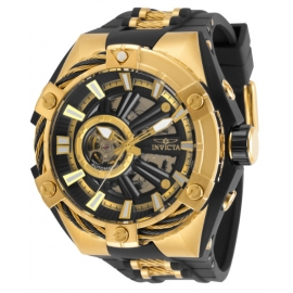 S1 Rally 28860 Automatic Black Dial Open Heart Men's Watch
