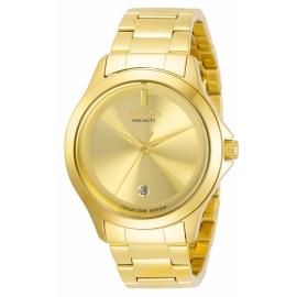 Invicta Men's 31120 Specialty Quartz 2 Hand Gold Dial Watch