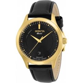 Invicta Men's 31127 Specialty Quartz 2 Hand Black Dial Watch