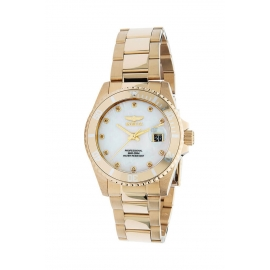 INVICTA ANGEL WOMENS 0.04 CARAT DIAMOND QUARTZ 38MM - MODEL 30941