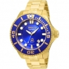Invicta 19806 Pro Diver 47mm Automatic Men's Watch - Gold/Blue