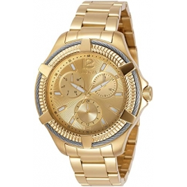 Invicta Bolt Womens Quartz 41mm Stainless Steel Case Gold Dial - Model - 30893