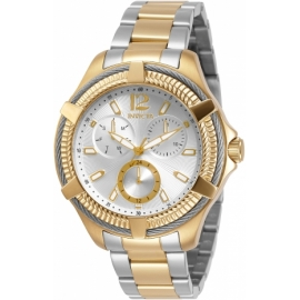 Invicta Bolt Womens Quartz 41mm Stainless Steel Case Silver Dial - Model 30895