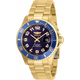 INVICTA MEN'S 30694 PRO DIVER QUARTZ 3 HAND BLUE DIAL WATCHINVICTA MEN'S 30694 PRO DIVER QUARTZ 3 HAND BLUE DIAL WATCH