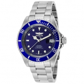 INVICTA PRO DIVER MEN'S AUTOMATIC 40MM STAINLESS STEEL CASE BLUE DIAL - MODEL 9094OB