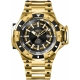 INVICTA AKULA AUTOMATIC MENS WATCH - 52.5MM STAINLESS STEEL CASE, STAINLESS STEEL BAND, GOLD, BLACK (31864)