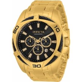 Invicta Bolt Quartz Men's 50mm Watch Camo Green Bundle (34119-DC8G-BR3)
