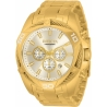 Invicta Bolt Chronograph Quartz Gold Dial Men's Watch 34123