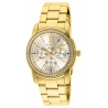 Invicta Angel Womens Quartz 38 mm Gold Case Gold Dial - Model 28688