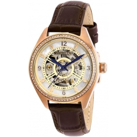 Invicta Women's 26354 Objet D Art Automatic 3 Hand White Dial Watch