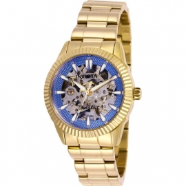 Invicta Women's 26362 Objet D Art Automatic 3 Hand Purple Blue Dial Watch