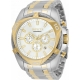 Invicta Men's 34126 Bolt Quartz Chronograph Silver Dial Watch