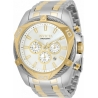 Invicta Men's 34126 Bolt Quartz Chronograph Silver Dial Watch