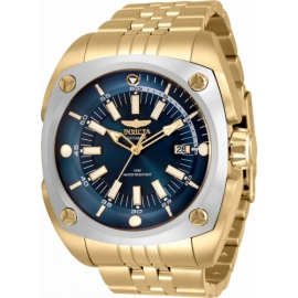 INVICTA RESERVE AUTOMATIC MENS WATCH - 48MM STAINLESS STEEL CASE, STAINLESS STEEL BAND, GOLD (32065)