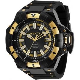 Invicta Akula Automatic Men's Watch - 52.5mm, Gold, Black (31880)