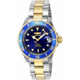 INVICTA 8928OB PRO DIVER AUTOMATIC WATCH - GOLD, STAINLESS STEEL.