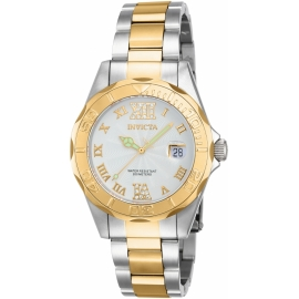 INVICTA 14791 PRO DIVER, SILVER AND GOLD