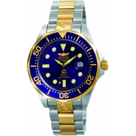 INVICTA 3049 PRO DIVER AUTOMATIC WATCH - GOLD, STAINLESS STEEL