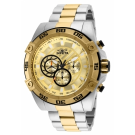 INVICTA 25537 SPEEDWAY MENS QUARTZ 52MM TWO TONE
