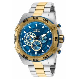 INVICTA 25538 SPEEDWAY MENS QUARTZ 52MM TWO TONE