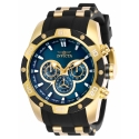 INVICTA 25836 SPEEDWAY GOLD CASE AND GROMED BAND