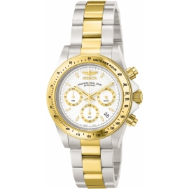 INVICTA 9212 SPEEDWAY QUARTZ WATCH - GOLD, STAINLESS STEEL CASE