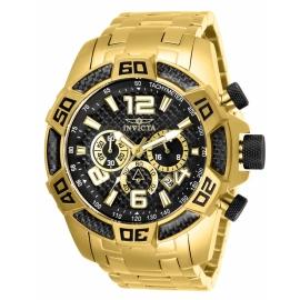 INVICTA 25853 PRO DIVER 50 MM QUARTZ , GOLD CASE