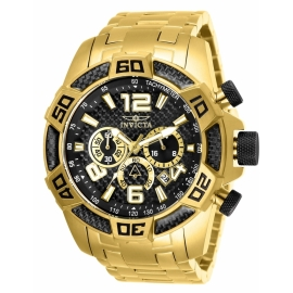 INVICTA 25853 PRO DIVER 50 MM QUARTZ , GOLD CASE