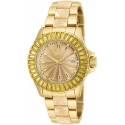 Invicta 17941 Angel Swiss Movement Quartz Watch - Gold Case