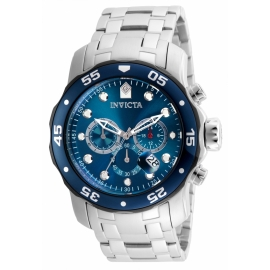 INVICTA PRO DIVER MEN'S QUARTZ STAINLESS STEEL CASE