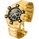 INVICTA 0340 RESERVE QUARTZ WATCH  MODEL 0340- GOLD CASE