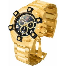 INVICTA 0340 RESERVE QUARTZ WATCH  MODEL 0340- GOLD CASE