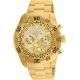 INVICTA PRO DIVER MENS QUARTZ 48MM STAINLESS STEEL CASE GOLD DIAL -MODEL 24835