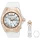 Technomarine Men's TM-115063 Cruise Monogram Analog Display Quartz White Watch